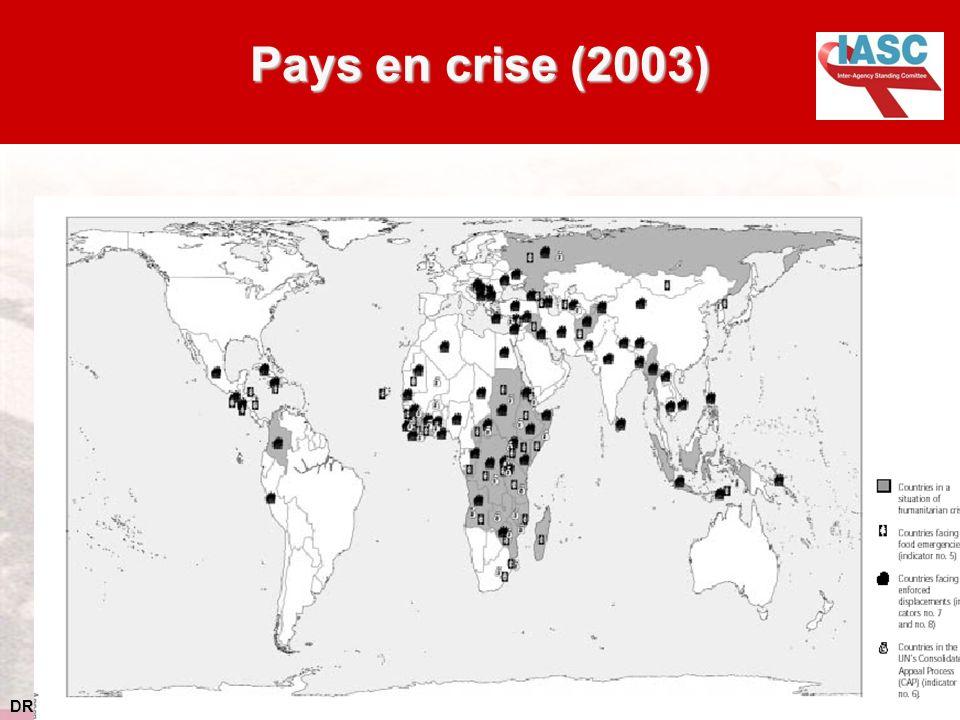 DRAFT 1.11.04 Pays en crise (2003)