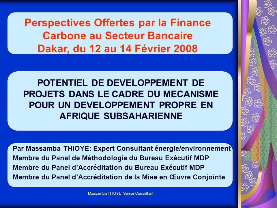 Massamba THIOYE Sénior Consultant COMMUNAUTE INTERNATIONALE A PRIS CONSCIENTE DE LA MENACE QUE FONT PESER LES CHANGEMENTS CLIMATIQUES SUR LES GENERATIONS FUTURES + CCNUCC et PK GRAVITE DE LA MENACE SA PROBABILITE DOCCURENCE