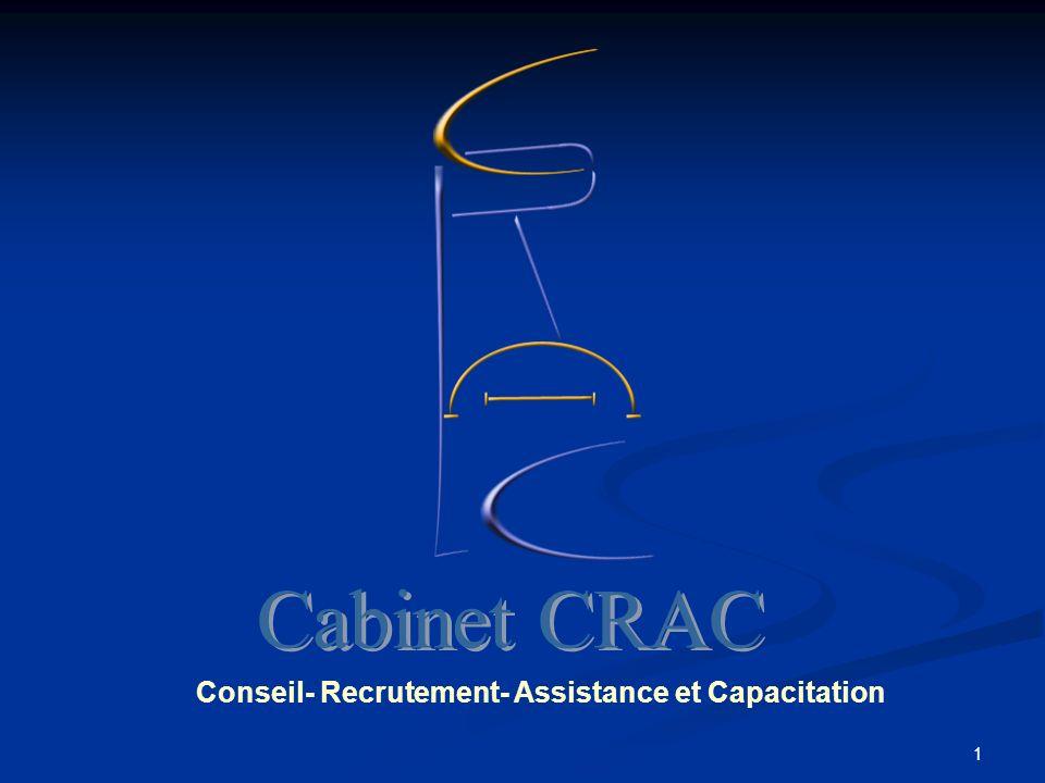 1 Conseil- Recrutement- Assistance et Capacitation