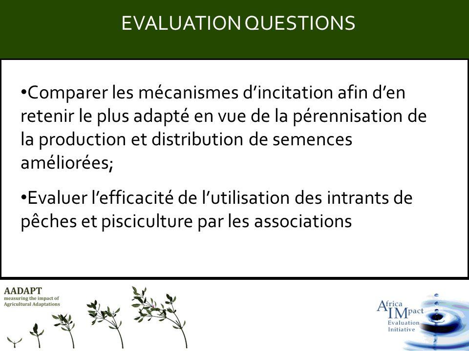 Title Comparer les mécanismes dincitation afin den retenir le plus adapté en vue de la pérennisation de la production et distribution de semences amél
