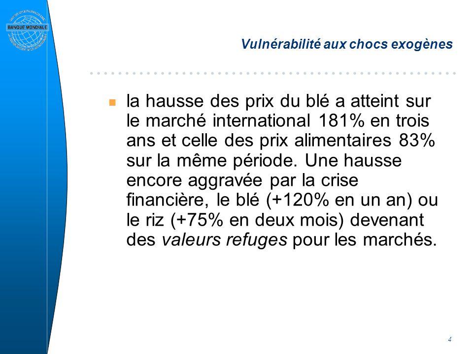 15 La Mauritanie en action contre la crise alimentaire Programme Spécial dIntervention (PSI) 1- Mesures durgence: n Approvisionnement et maitrise des prix: n Aide alimentaire et filets de sécurité 2- Mesures structurelles: n Renforcement de la Campagne agricole n Renforcement du Pouvoir dachat n Hydraulique villageoise et Pastorale