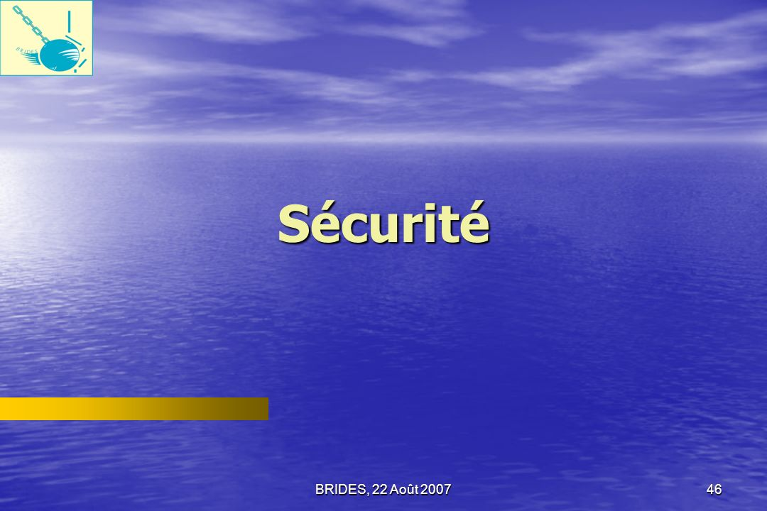 BRIDES, 22 Août 200745 Méthodes de résolution extrajudiciaire des conflits Réponse des Ménages