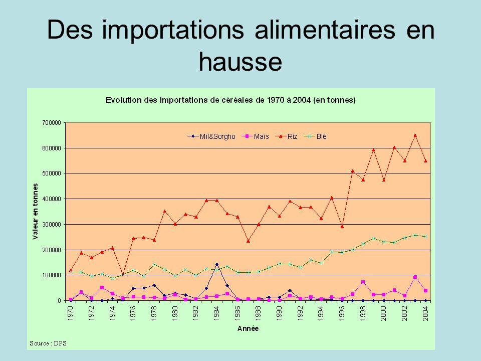 Ipar / Sen 2030 Des importations alimentaires en hausse
