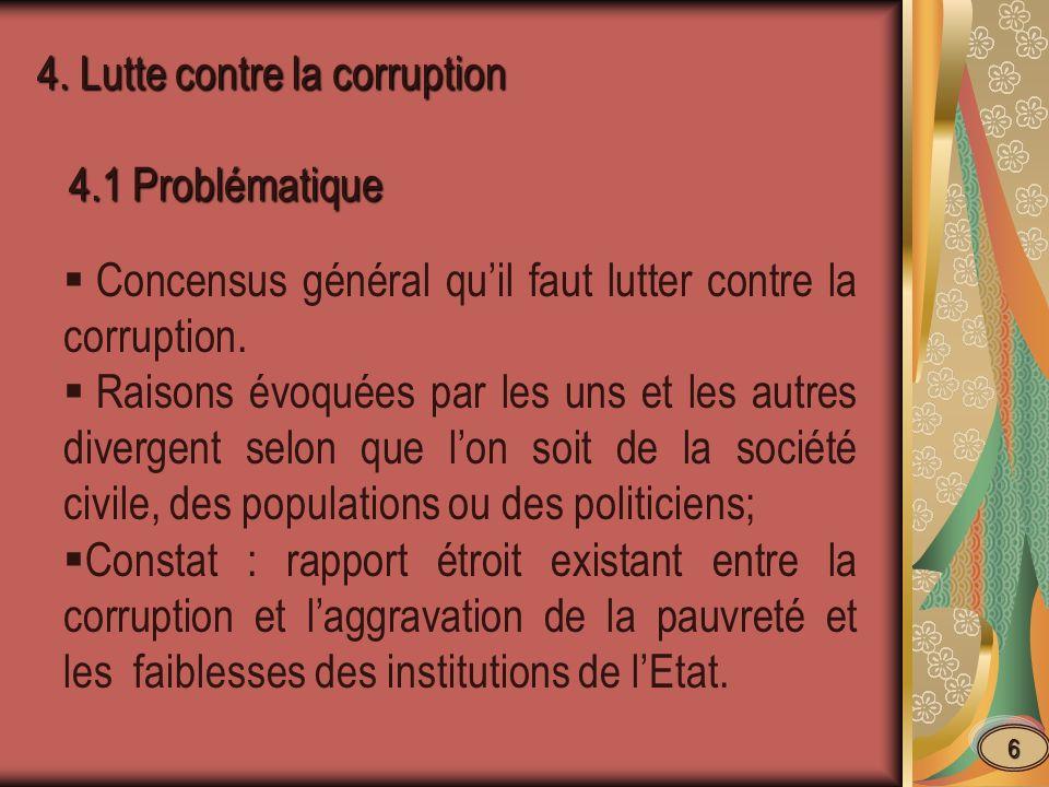 4.2.- Définition, formes et ampleur de la corruption 4.2.- Définition, formes et ampleur de la corruption 4.2.1.