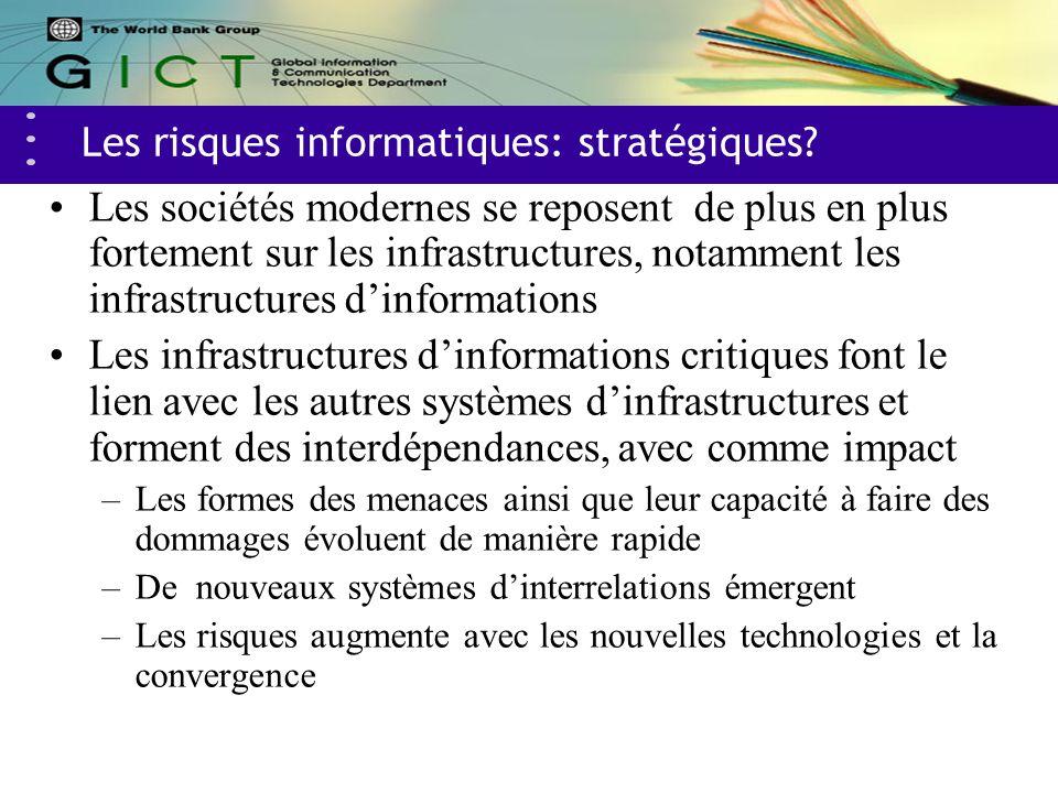 Les risques informatiques: stratégiques.