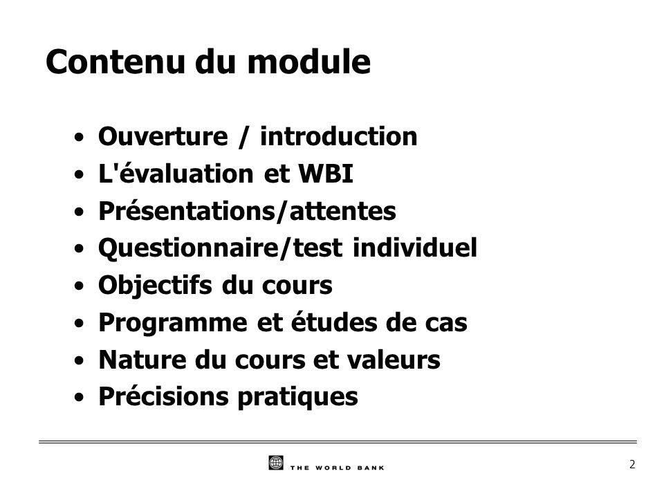 3 Ouverture/Introduction