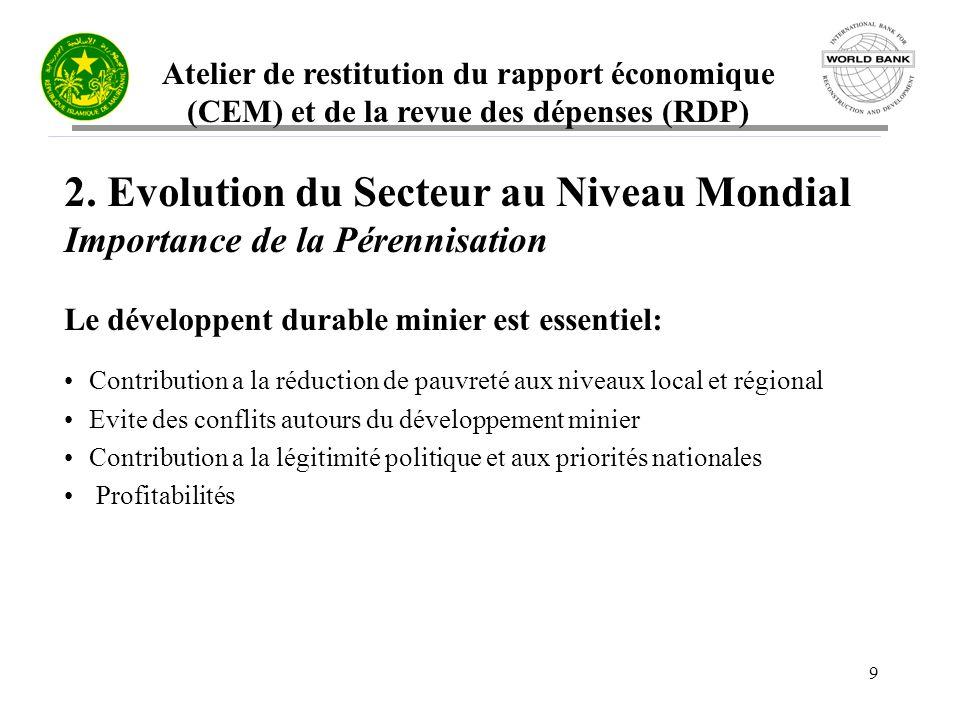 Atelier de restitution du rapport économique (CEM) et de la revue des dépenses (RDP) 20 3.2 Une réforme encore inachevée Que reste-t-il à faire.