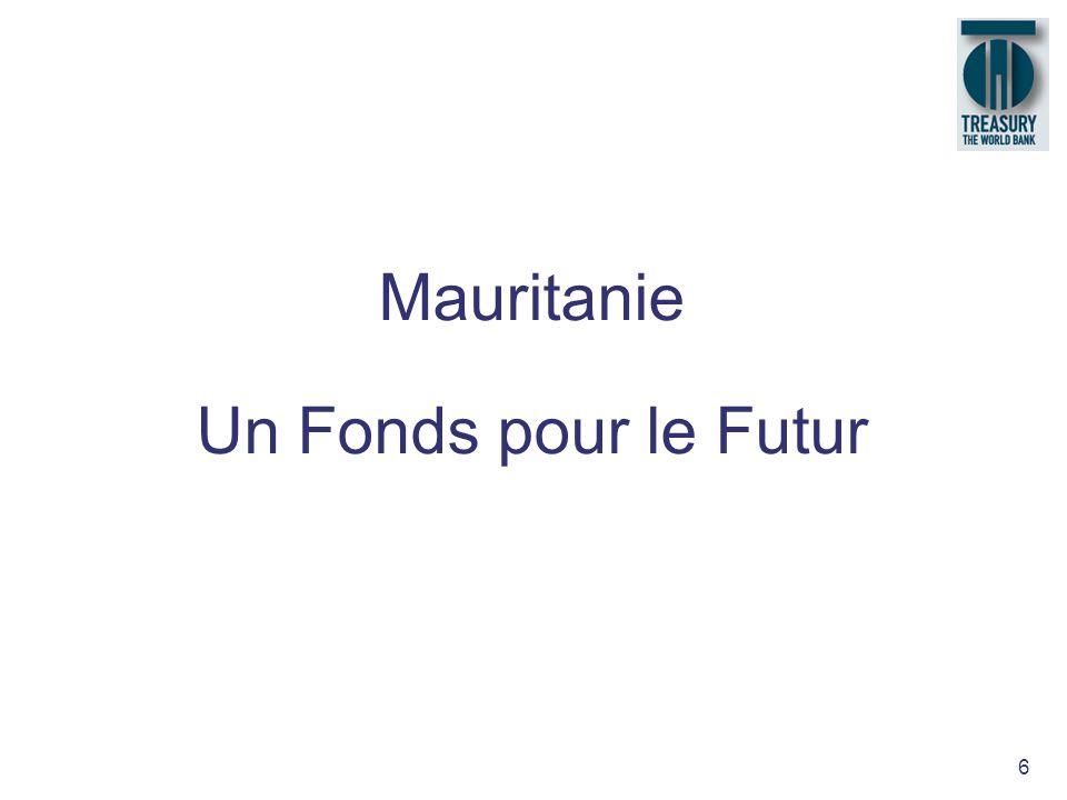 6 Mauritanie Un Fonds pour le Futur