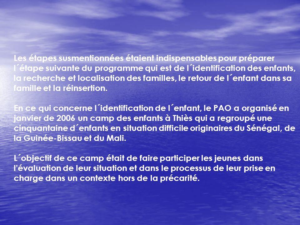 1-Partager linformation entre les partenaires locaux et la mise en commun des mécanismes pour la mise en oeuvre du programme en Guinée-Bissau (partage