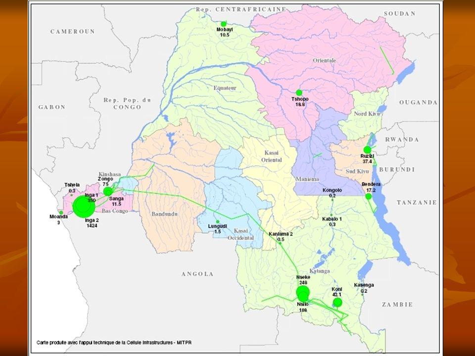 29 Secteur des télécoms Contribution au développement du secteur par la construction dune fibre optique le long de la ligne Inga - Shaba Contribution au développement du secteur par la construction dune fibre optique le long de la ligne Inga - Shaba Projets potentiels dinterconnexion avec lAfrique de lEst et du Sud et lAfrique centrale Projets potentiels dinterconnexion avec lAfrique de lEst et du Sud et lAfrique centrale Accompagnement de la réforme institutionnelle (ex: politique sectorielle, cadre juridique) Accompagnement de la réforme institutionnelle (ex: politique sectorielle, cadre juridique)