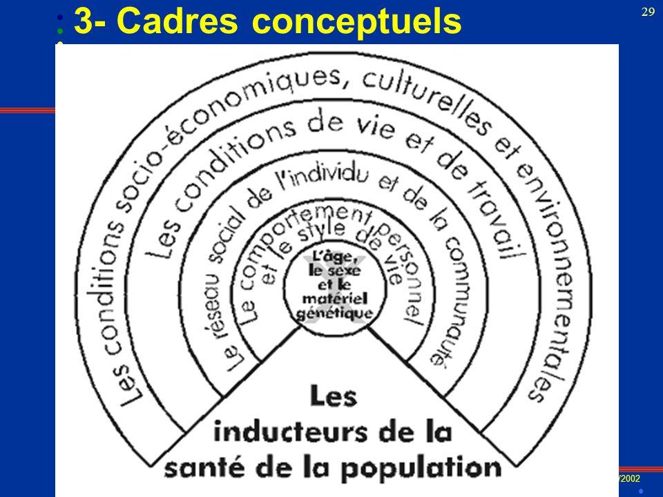 VR/2002 29 3- Cadres conceptuels