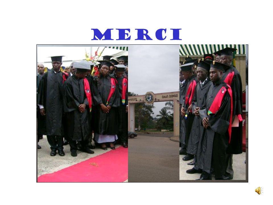 Conclusion Le projet CNI constitue une réponse au programme national dinformatisation des universités gabonaises Lévaluation qui peut en être faite es