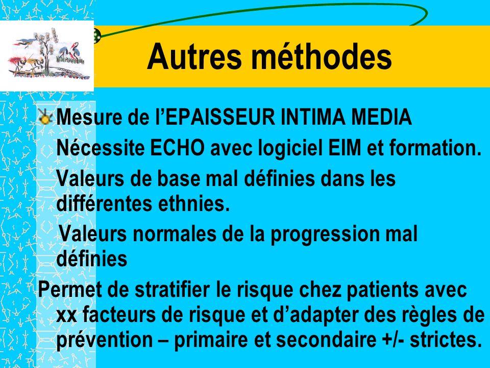 CONCLUSION 1 La mesure de l' Index des pressions systoliques devrait permettre un diagnostic plus précoce de l AOMI qui nest pas exceptionnelle dans l
