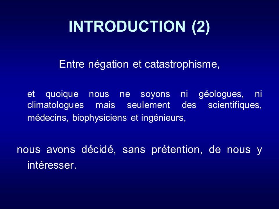 INTRODUCTION (3) 1) La radioactivité émise par les volcans : un phénomène mal connu .