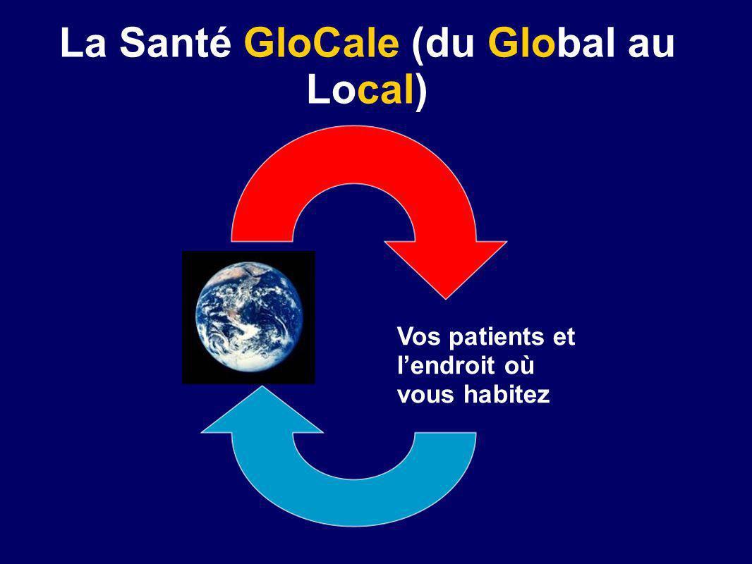 La Santé GloCale (du Global au Local) Vos patients et lendroit où vous habitez