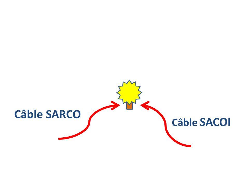 Câble SARCO Câble SACOI