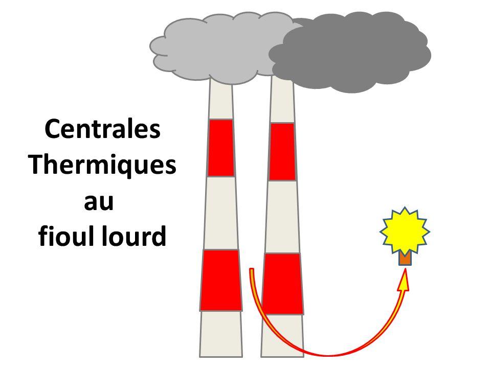 Centrales Thermiques au fioul lourd