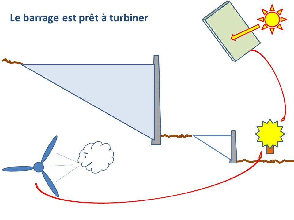 Le barrage est prêt à turbiner