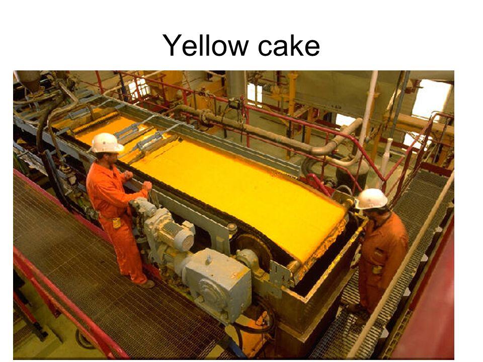 12 Yellow cake