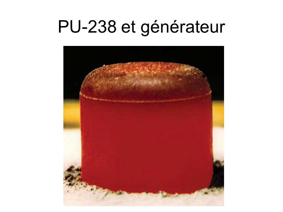 27 PU-238 et générateur