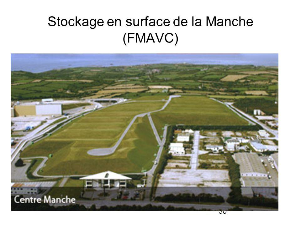 30 Stockage en surface de la Manche (FMAVC)