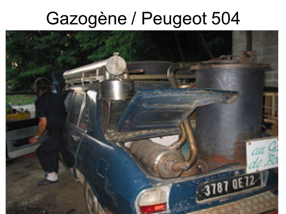 51 Gazogène / Peugeot 504