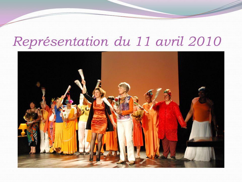 Représentation du 11 avril 2010