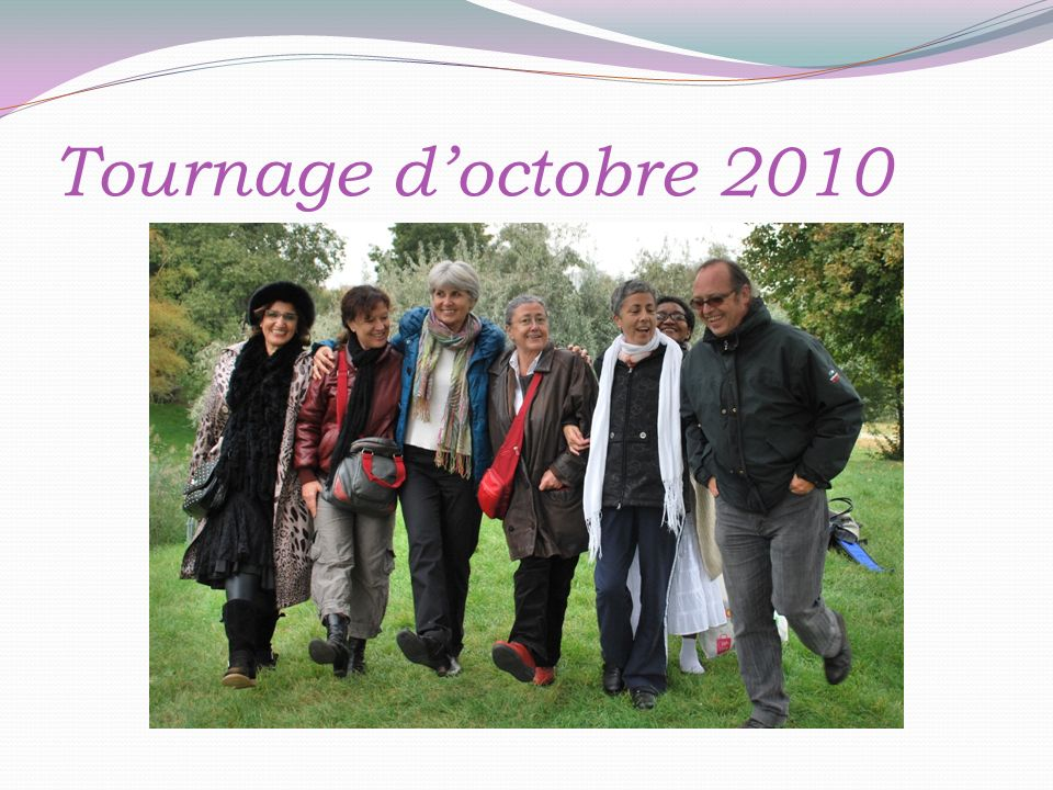 Tournage doctobre 2010
