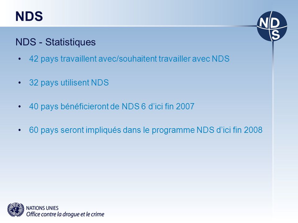 NDS NDS - Statistiques