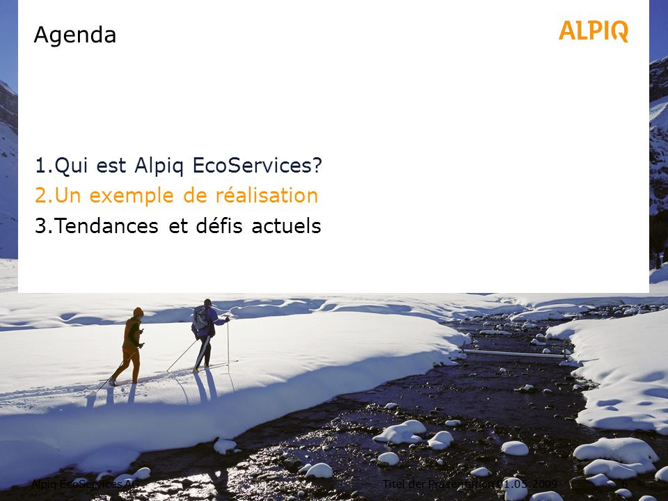 Alpiq EcoServices SAForum FEDRE, Genève, Mai 20127 Hotel Grand Resort Bad Ragaz, Quellenhof Conseil au maître douvrage