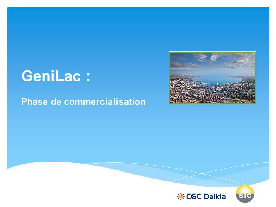 GeniLac : Phase de commercialisation