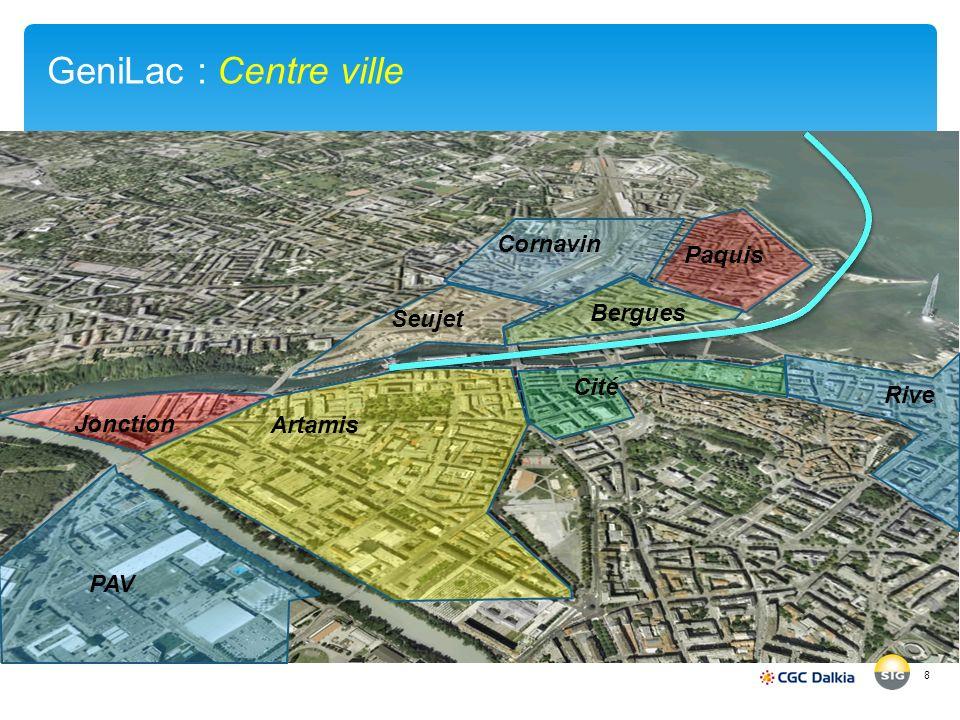 GeniLac : Centre ville 8 PAV Jonction Artamis Cité Rive Bergues Cornavin Paquis Seujet