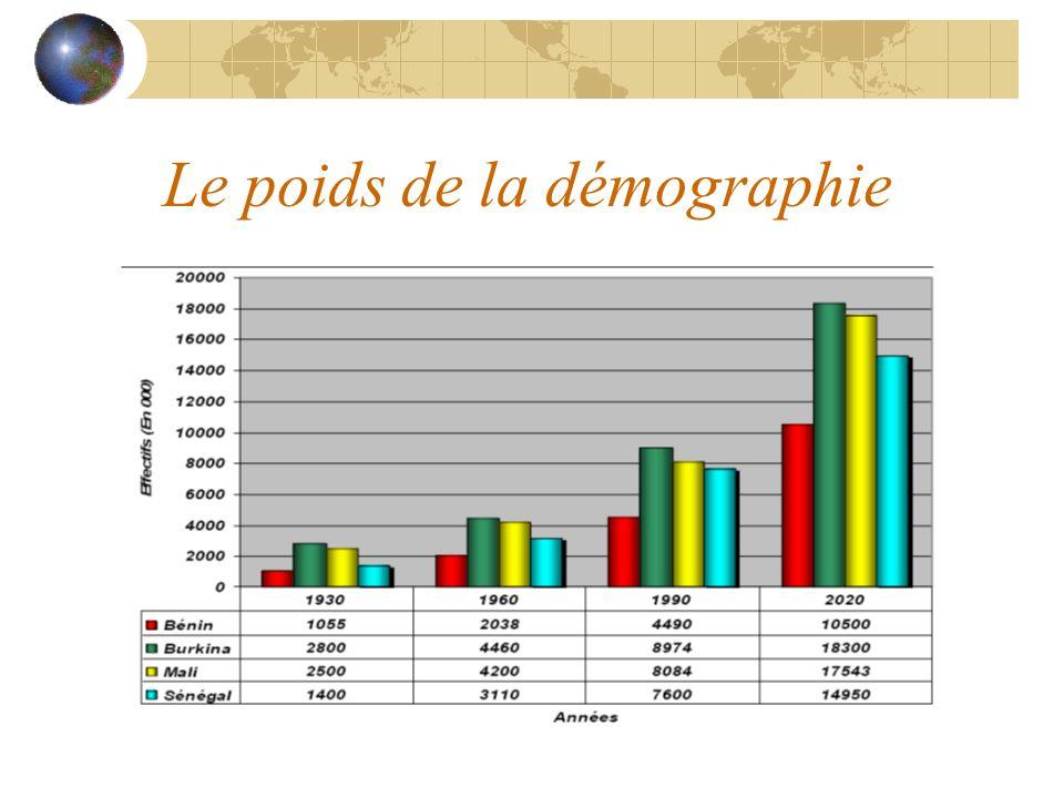 Le poids de la démographie