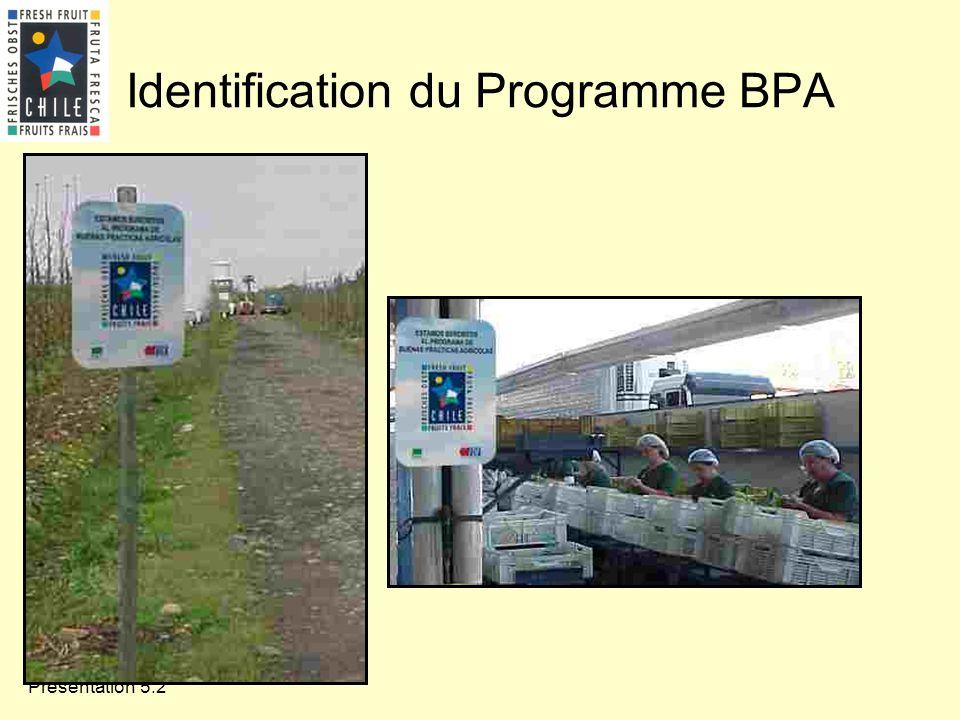 Présentation 5.2 Identification du Programme BPA