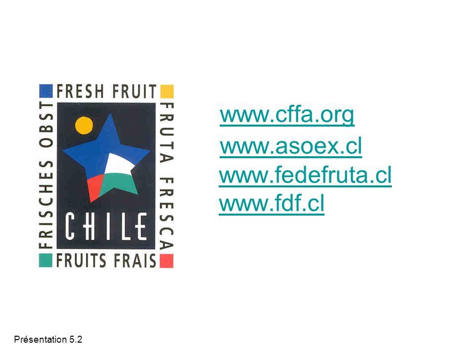 Présentation 5.2 www.cffa.org www.asoex.cl www.fedefruta.cl www.fdf.cl www.cffa.org www.asoex.clwww.fedefruta.clwww.fdf.cl