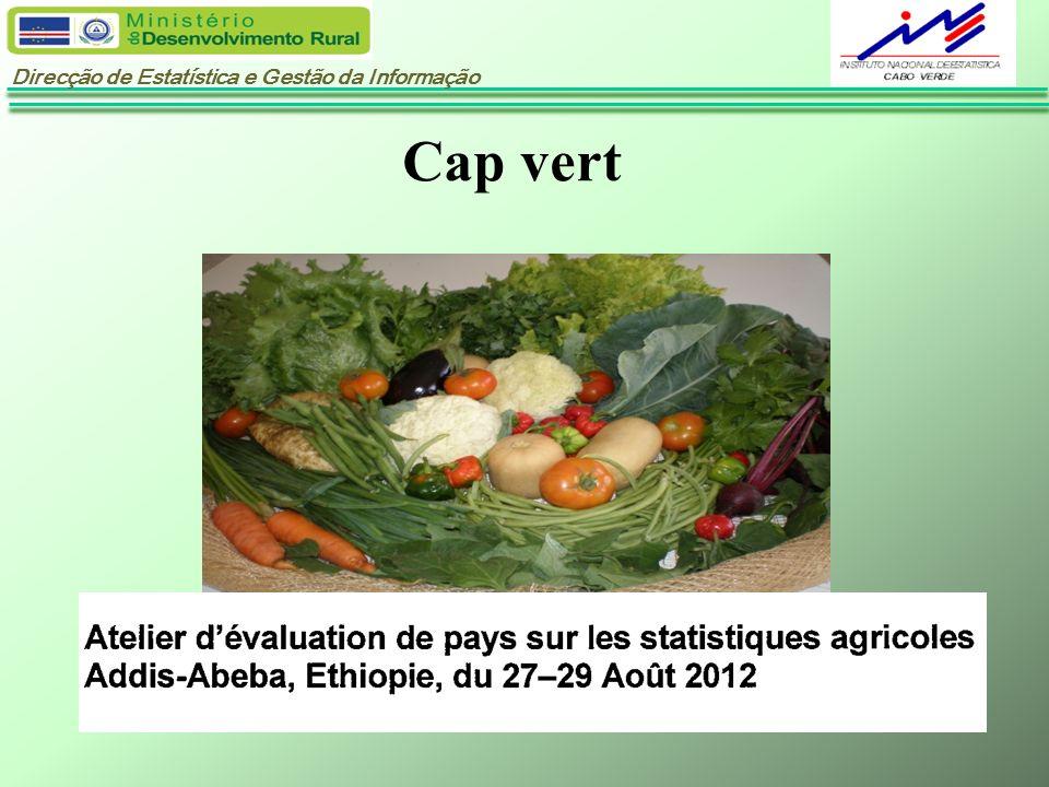 Direcção de Estatística e Gestão da Informação Cap vert