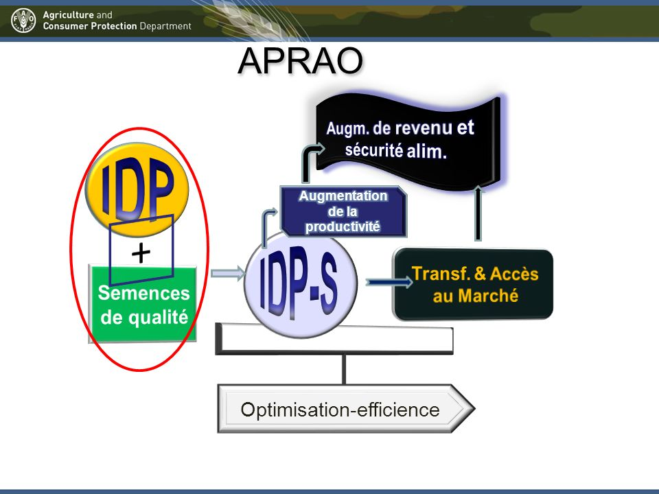 Optimisation-efficience APRAO