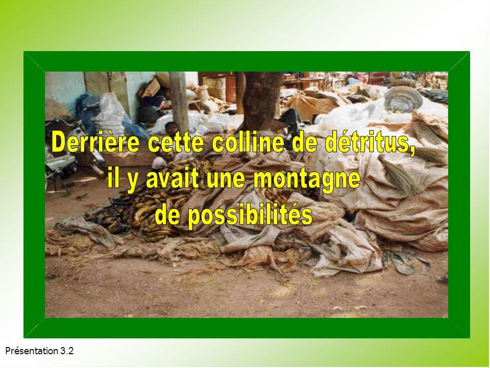 Présentation 3.2 LE MÊME PRODUIT APRÈS PASSAGE PAR LA TRIEUSE- CALIBREUSE