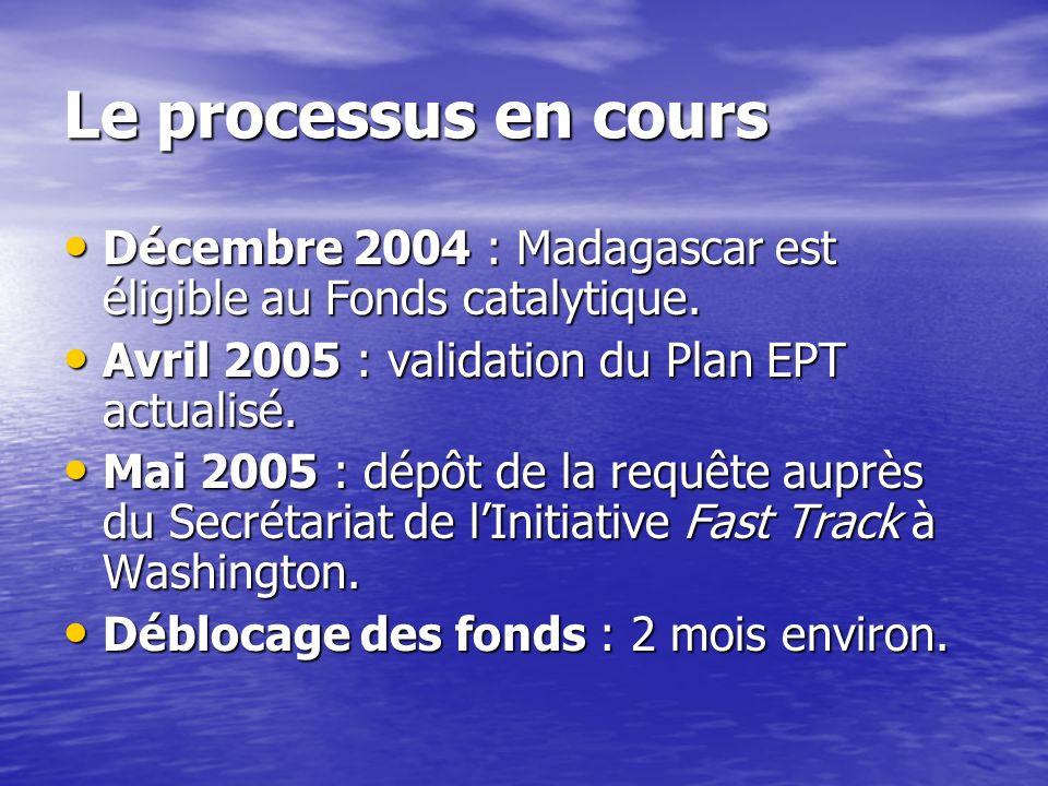 Quelles conditions pour accéder au Fonds catalytique? Un plan EPT mis à jour validé par les bailleurs de fonds partenaires du MENRS. Un plan EPT mis à