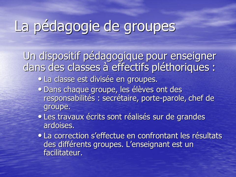 2. Classes multigrades, grandes groupes, appui au bilinguisme Les enseignants doivent faire face à des effectifs nombreux, souvent organisés en classe