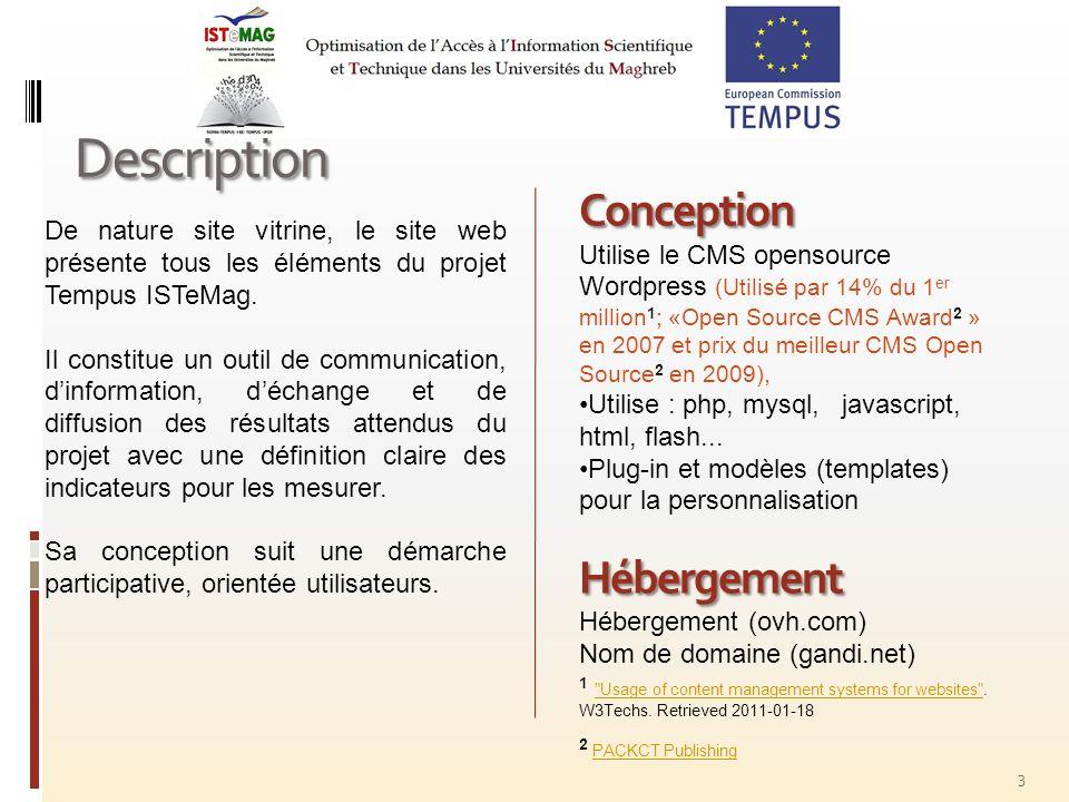 14 Quelques propositions 1.Le contenu ne sera mis en ligne quaprès validation par un comité de rédaction local ou mixte (Algérie, Maroc, Tunisie).