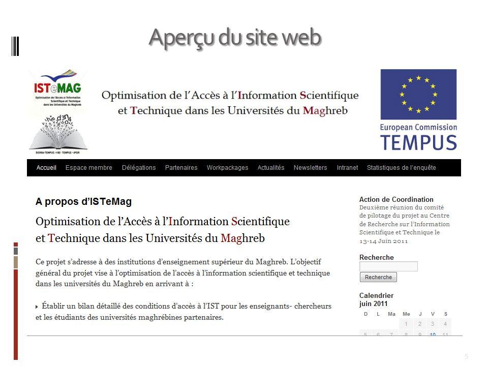 26 Messagerie électronique Forum de discussion Newsletters Wikis Discussion instantanées (chat) Espace de dépôt et de retrait de documents
