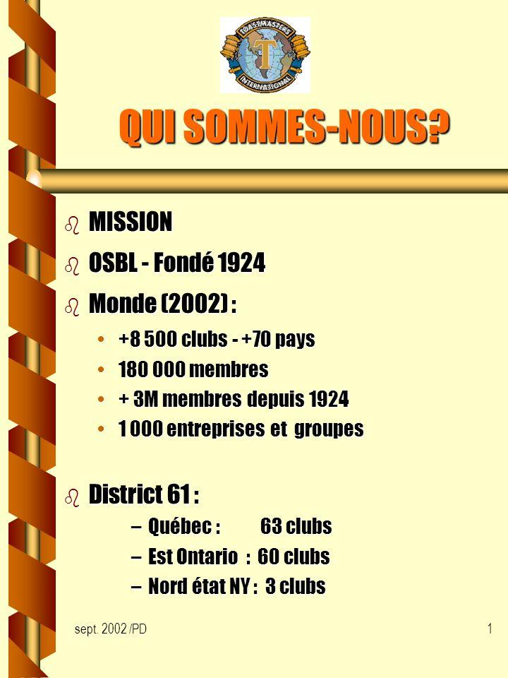 sept. 2002 /PD1 QUI SOMMES-NOUS.