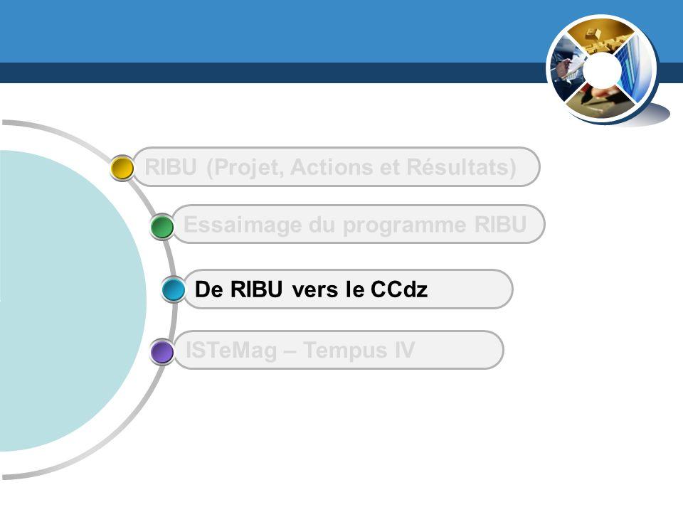 www.thmemgallery.com ISTeMag – Tempus IV De RIBU vers le CCdz Essaimage du programme RIBU RIBU (Projet, Actions et Résultats)