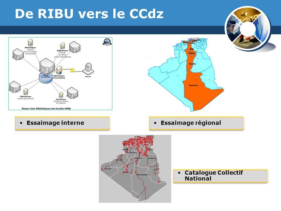 www.thmemgallery.com Company Logo De RIBU vers le CCdz Essaimage interneEssaimage régional Catalogue Collectif National
