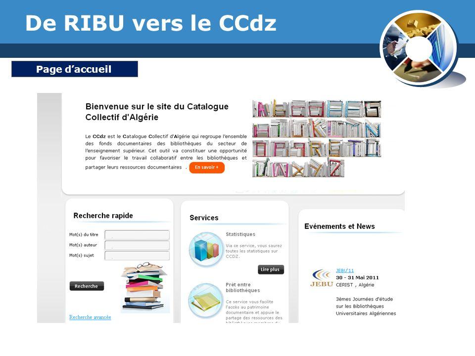 www.thmemgallery.com Company Logo De RIBU vers le CCdz Page daccueil