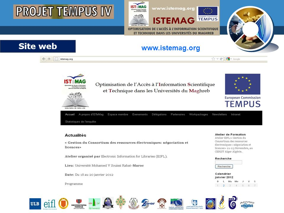 www.thmemgallery.com Company Logo Site web www.istemag.org