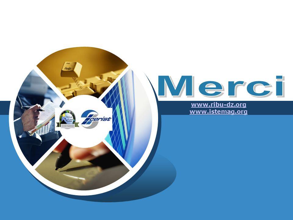 LOGO www.ribu-dz.org www.istemag.org