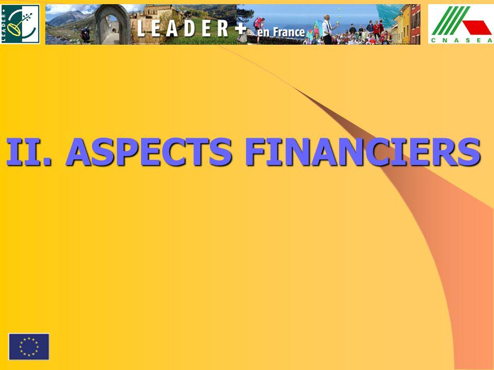 II.ASPECTS FINANCIERS