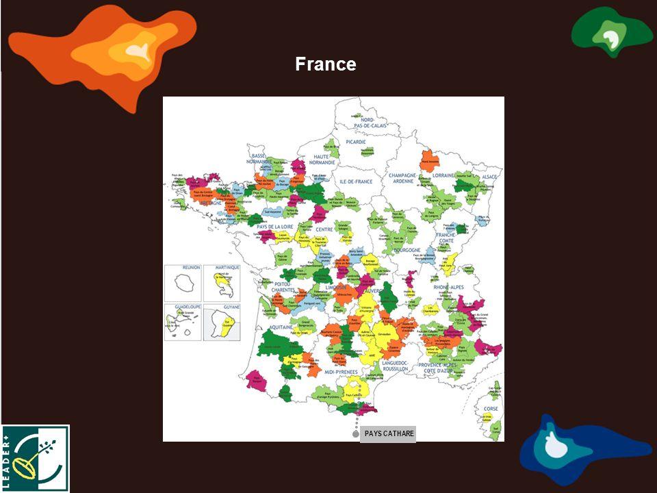 Marca de Calidad Territorial Europea Marque de Qualité Territoriale Européenne Marchio di Qualità Territoriale Europea σημάδι της ευρωπαϊκής εδαφικής ποιότητας PAYS CATHARE France